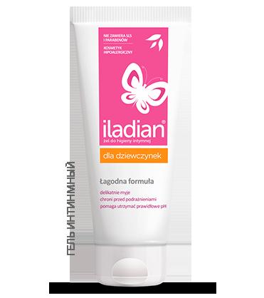Интимный гель Iladian для девочек